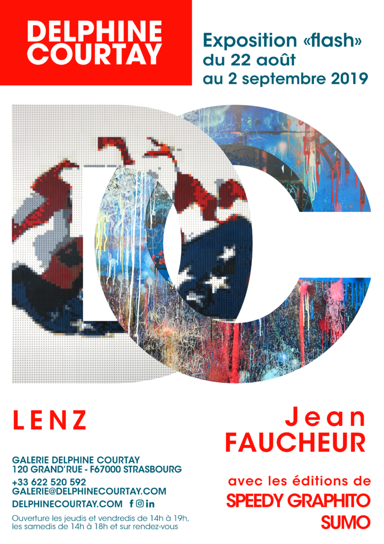 expo flash galerie Delphine courtay